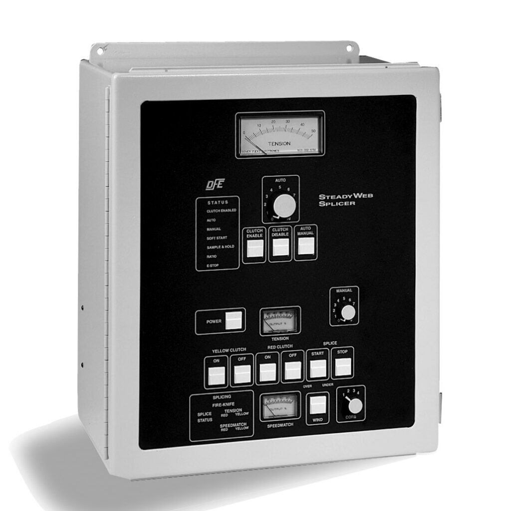SteadyWeb Splicer Tension Controller